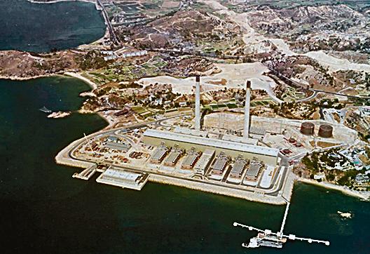 樂安排海水化淡廠於1975年啟用,規模曾為全球最大。(互聯網圖片)