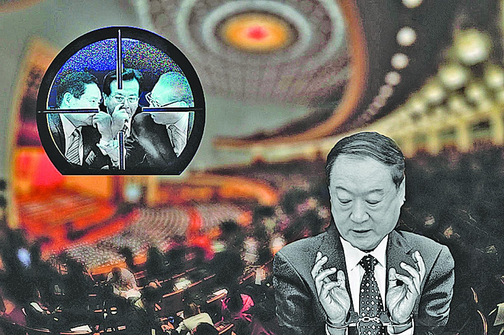 蘇榮是江澤民集團的重要成員,也是中共十八大後第一個落馬的副國級高官。(大紀元製圖)