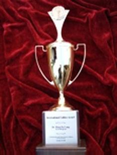 「牙泰寶」獲得了德國第一屆中西醫學大會金獎!