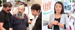 劉小麗遭梁粉擲鞋 斥梁振英「群眾鬥群眾」延伸