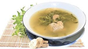 【梁廚美食】西洋菜無花果鯽魚湯