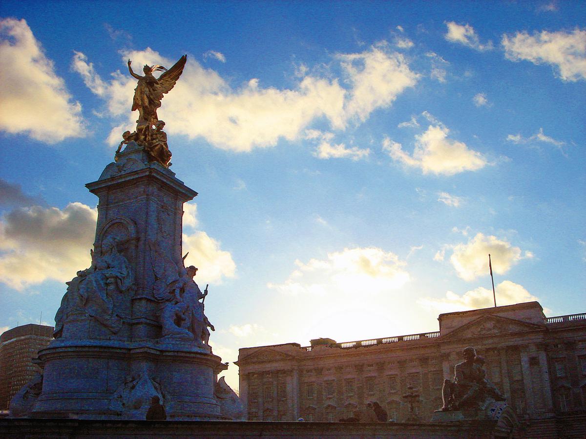 倫敦白金漢宮。(維基百科)