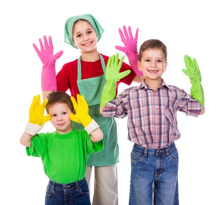 做家事 能讓孩子體驗責任與成就感