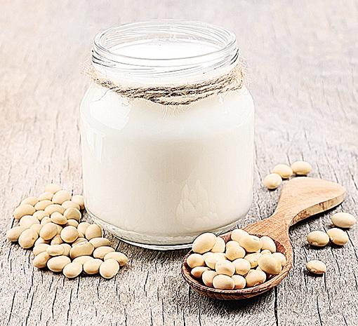 豆漿是很適合素食者的飲品。