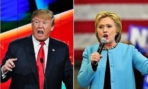 美大選投票日 特朗普希拉莉互有領先