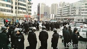 千警圍堵天津天穆村3天  數十維權村民被抓