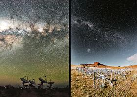 超越肉眼所見 銀河系絢麗無比
