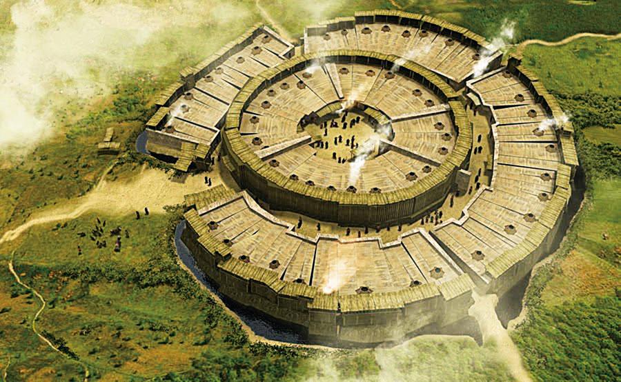 俄羅斯古城遺址