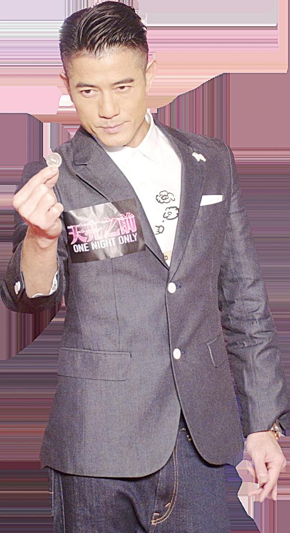 郭富城出席電影《天亮之前》宣傳活動。(網絡圖片)