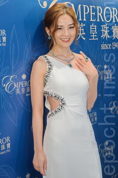 蔡卓妍想約好友一起吃飯慶祝34歲生日。(宋祥龍/大紀元)