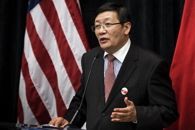 中共財政部部長樓繼偉曾因得罪江澤民而坐三年冷板凳。(Brendan SMIALOWSKI/AFP)