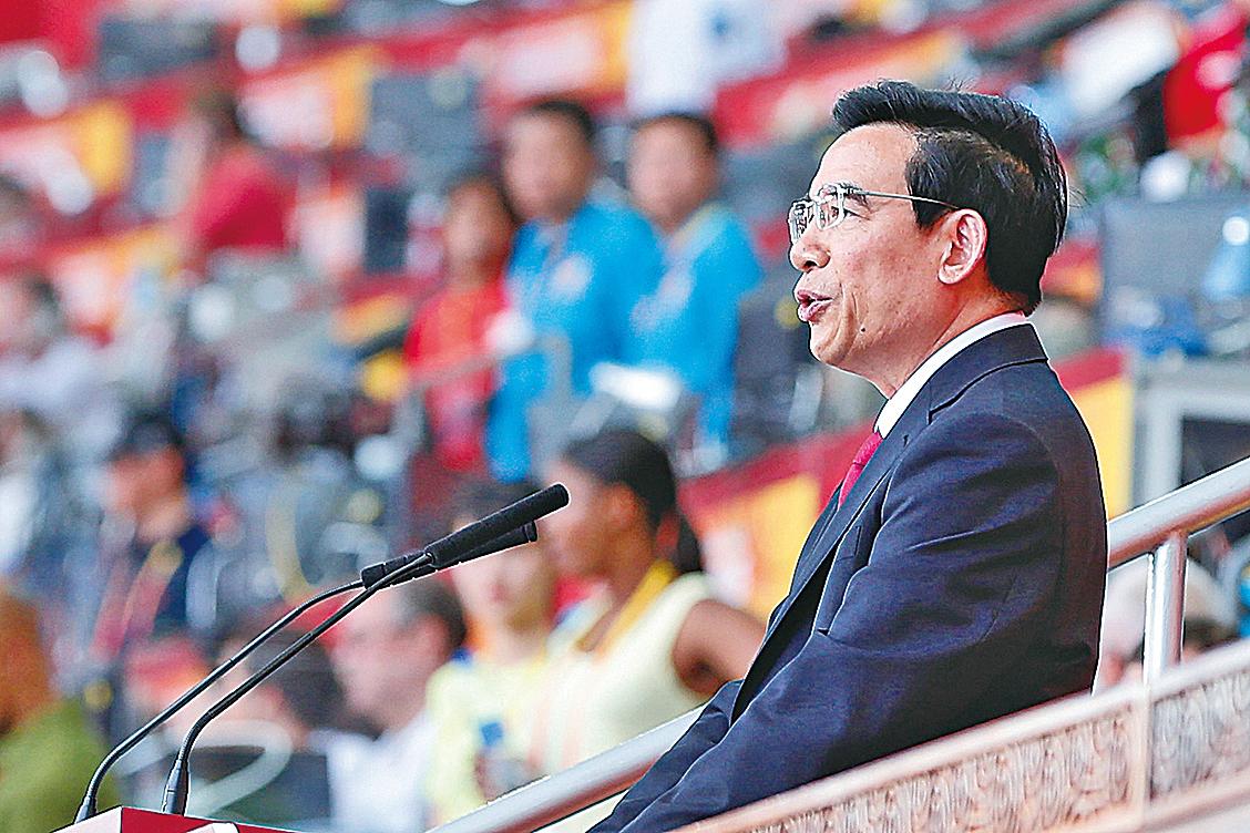 原北京市長王安順。(Getty Images)