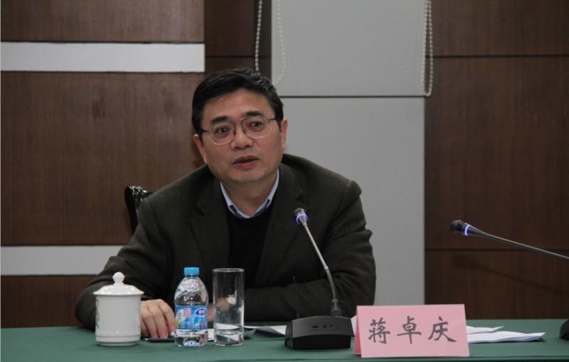 11月1日官方消息,上海市副市長蔣卓慶調任江蘇省紀委書記。(網絡圖片)