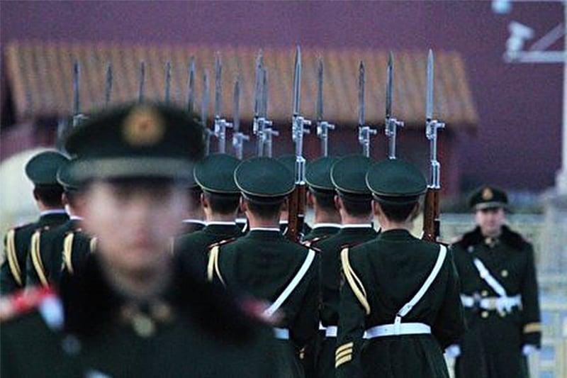 被稱為中共「近衛軍」的武警部隊高層幾乎被「一網打盡」。(Getty Images)