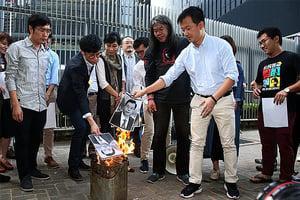 中共人大決釋法 港各界反對周日遊行