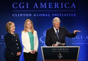 私下收卡塔爾百萬捐款 克林頓基金會認了