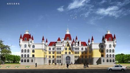 張澤建築方案作品——幼兒園。(本人提供)