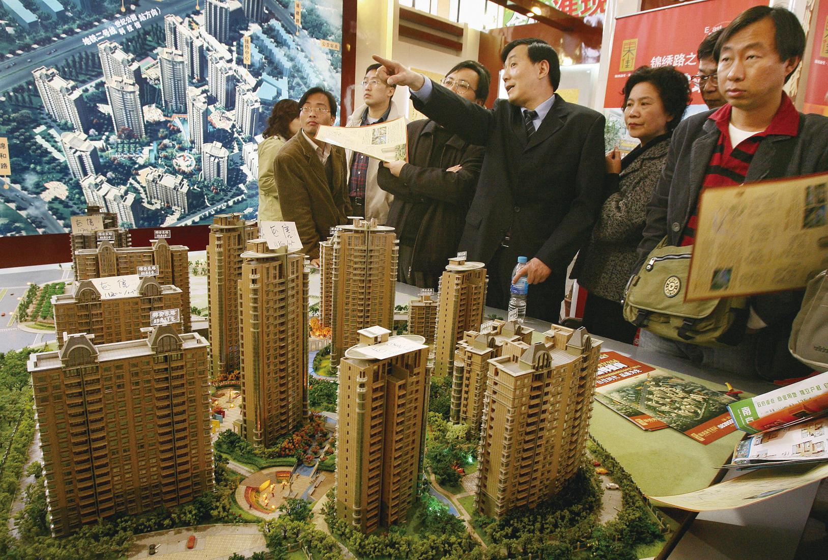 大陸房地產企業第三季度在市場依然高溫的情況下出現利潤率下調。(Getty Images)