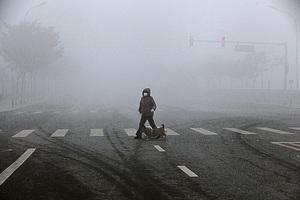 霧霾籠罩大陸7省市逾百萬平方公里
