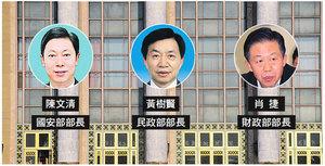 中共國安等四大部長換人