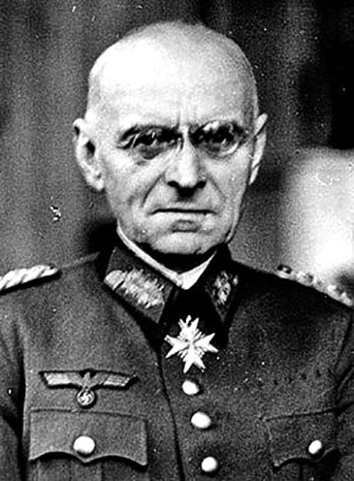 德國派往中國的最後一名首席顧問亞歷山大•馮•法肯豪森將軍。(網絡圖片)