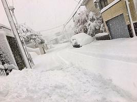 札幌11月大雪  積雪創21年紀錄