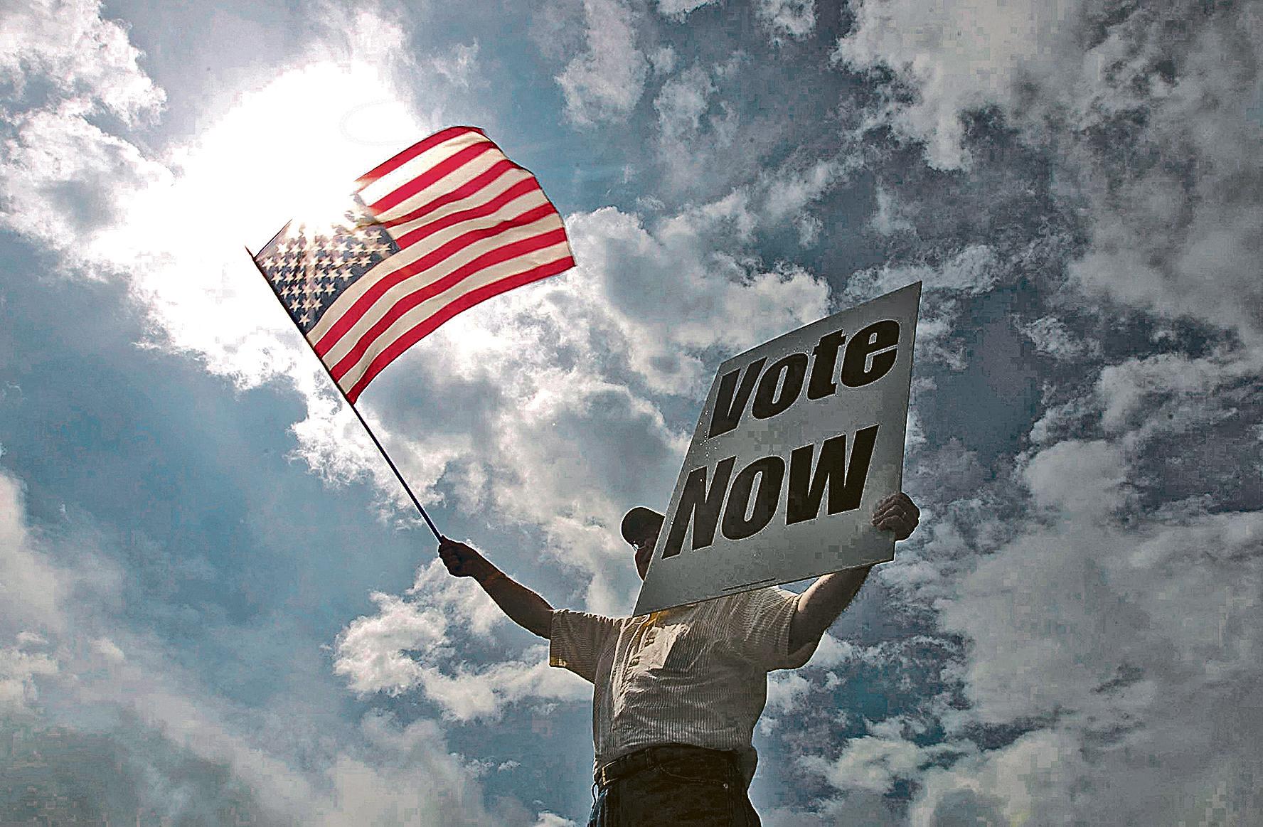 選舉人制度確保選舉的公正性。從1804年以來,需要由聯邦眾議院來選舉總統的情況迄今只出現過一次,即1824年大選的贏家亞當斯。(Getty Images)