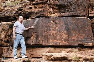 美洲岩畫竟源自古代中國?