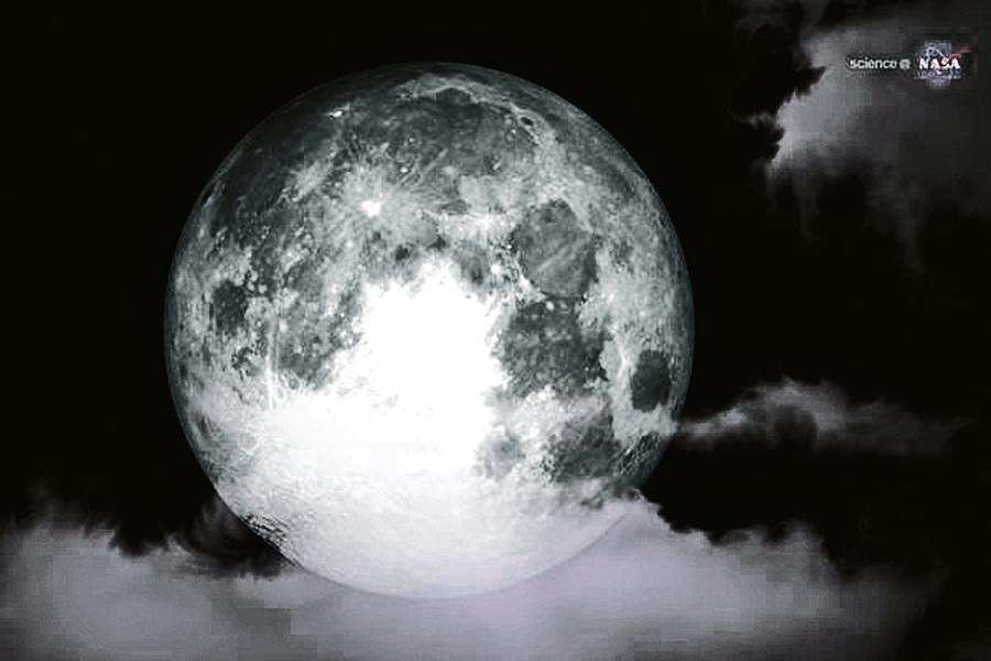 一生僅 見一次 超級滿月86年間最大
