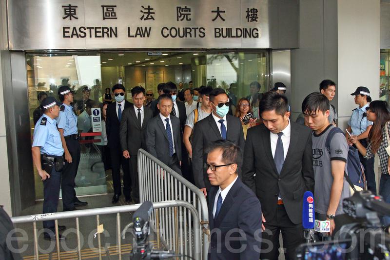 法院昨日裁定「七警案」中七名被告「有意圖而導致他人身體受嚴重傷害」表證成立。(大紀元資料圖片)