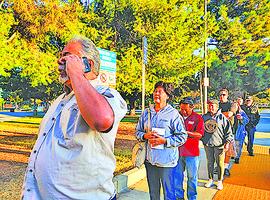 洛杉磯華裔首投族:珍惜投票權利盡公民責任