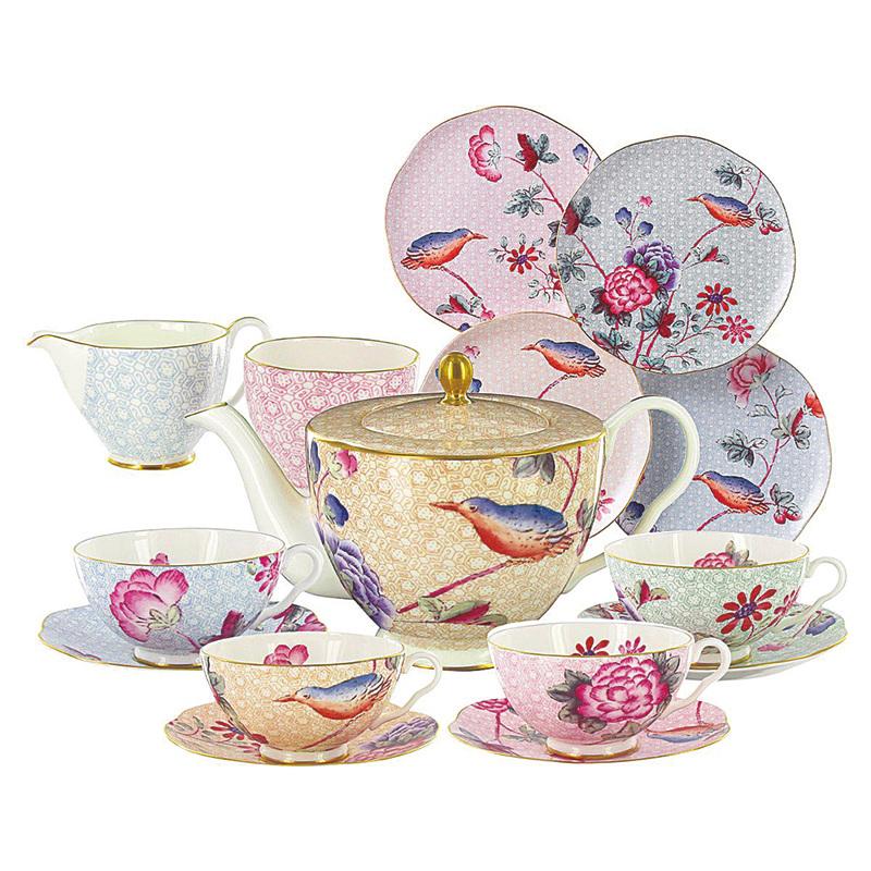 添置骨瓷茶具 迎新年