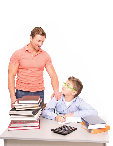 父母如何幫助中學生完成家庭作業