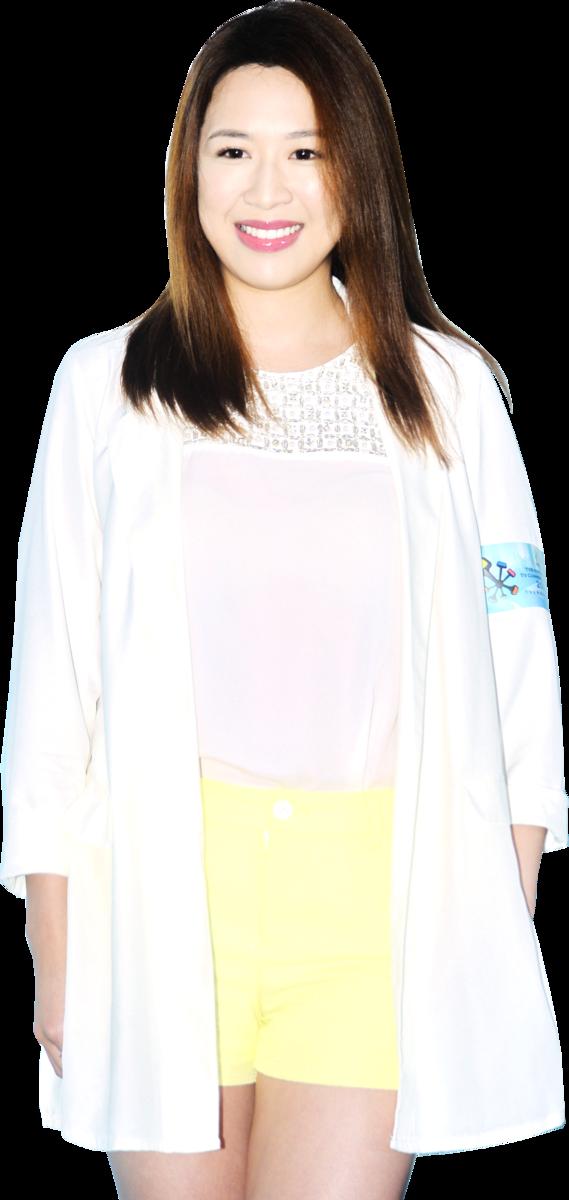 袁偉豪女友岑杏賢。(資料圖片)