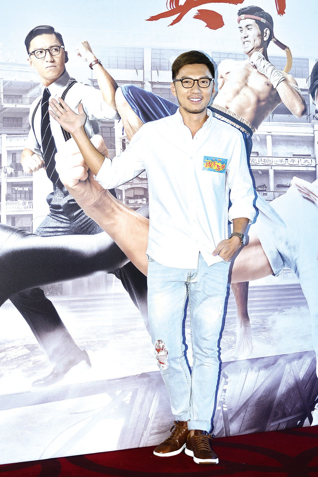 袁偉豪在《城寨英雄》中飾演的牙佬很受歡迎。(資料圖片)