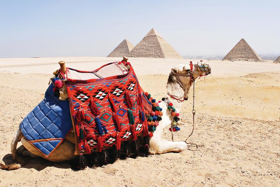 埃及吉薩金字塔的頂部不見了