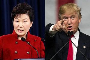 韓媒:特朗普與朴槿惠通話 維持兩國關係不變