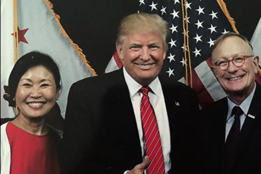 特朗普陣營譴責人權迫害兼回應駱家輝指控