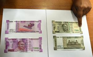 印度大鈔變廢紙衝擊銀行