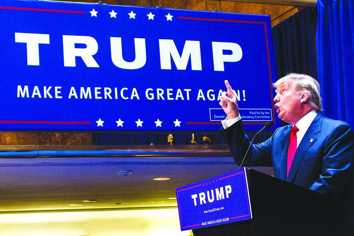 特朗普遠非完人,但他明顯受到上天的眷顧,背後原因何在呢?(Getty Images)