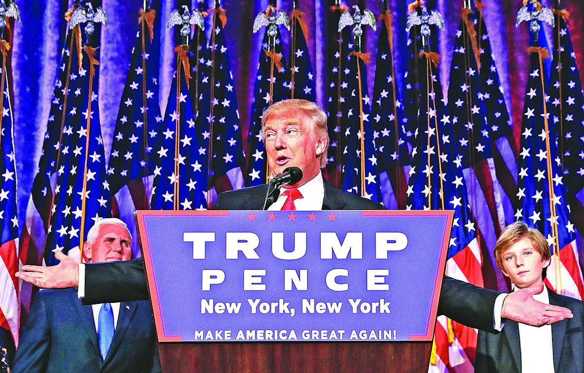 特朗普在美國總統大選中獲勝,即將入主白宮。(Getty Images)