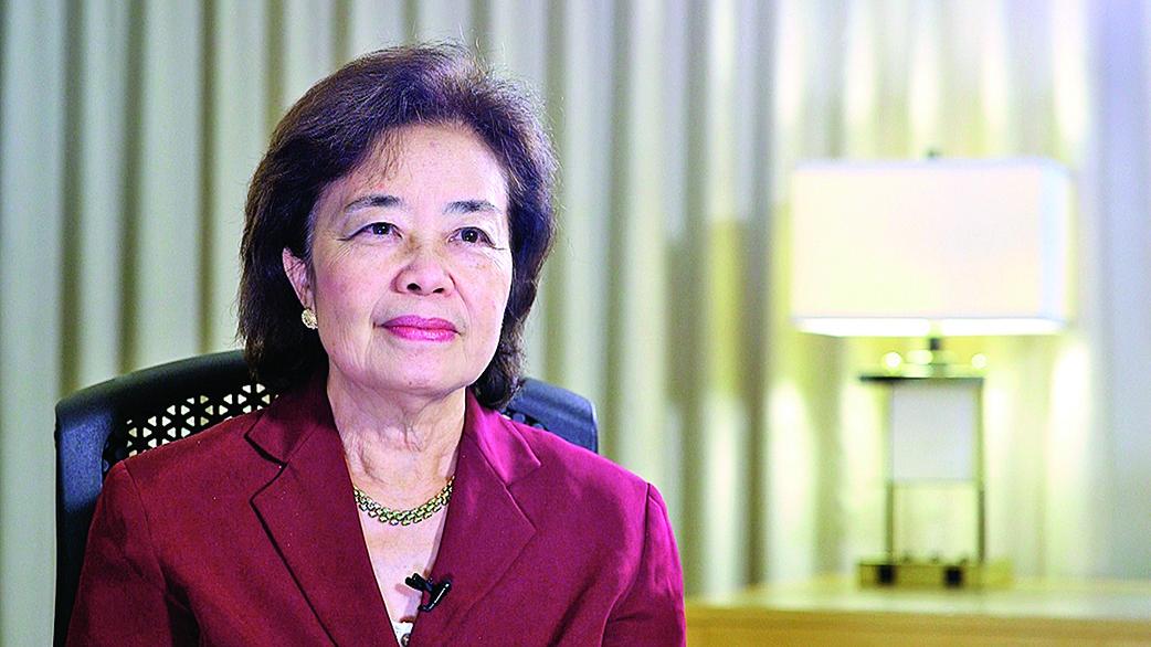 特朗普總部亞太裔顧問委員會榮譽主席張曼君(新唐人)