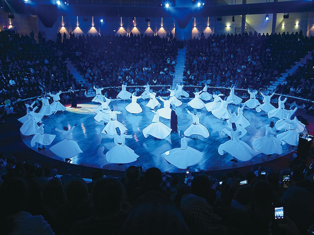 土耳其當地的旋轉舞。(土女時代提供)