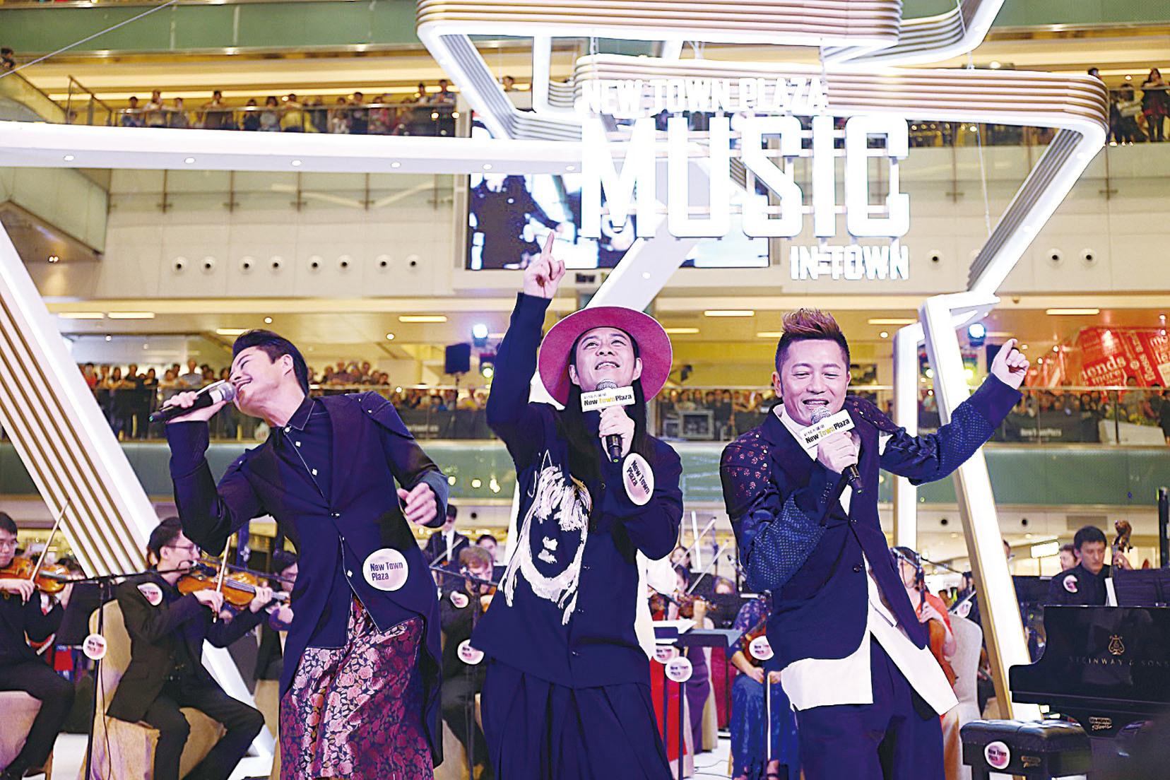 草蜢擔任壓軸表演嘉賓與觀眾打成一片。(Dynamic Duo PR)
