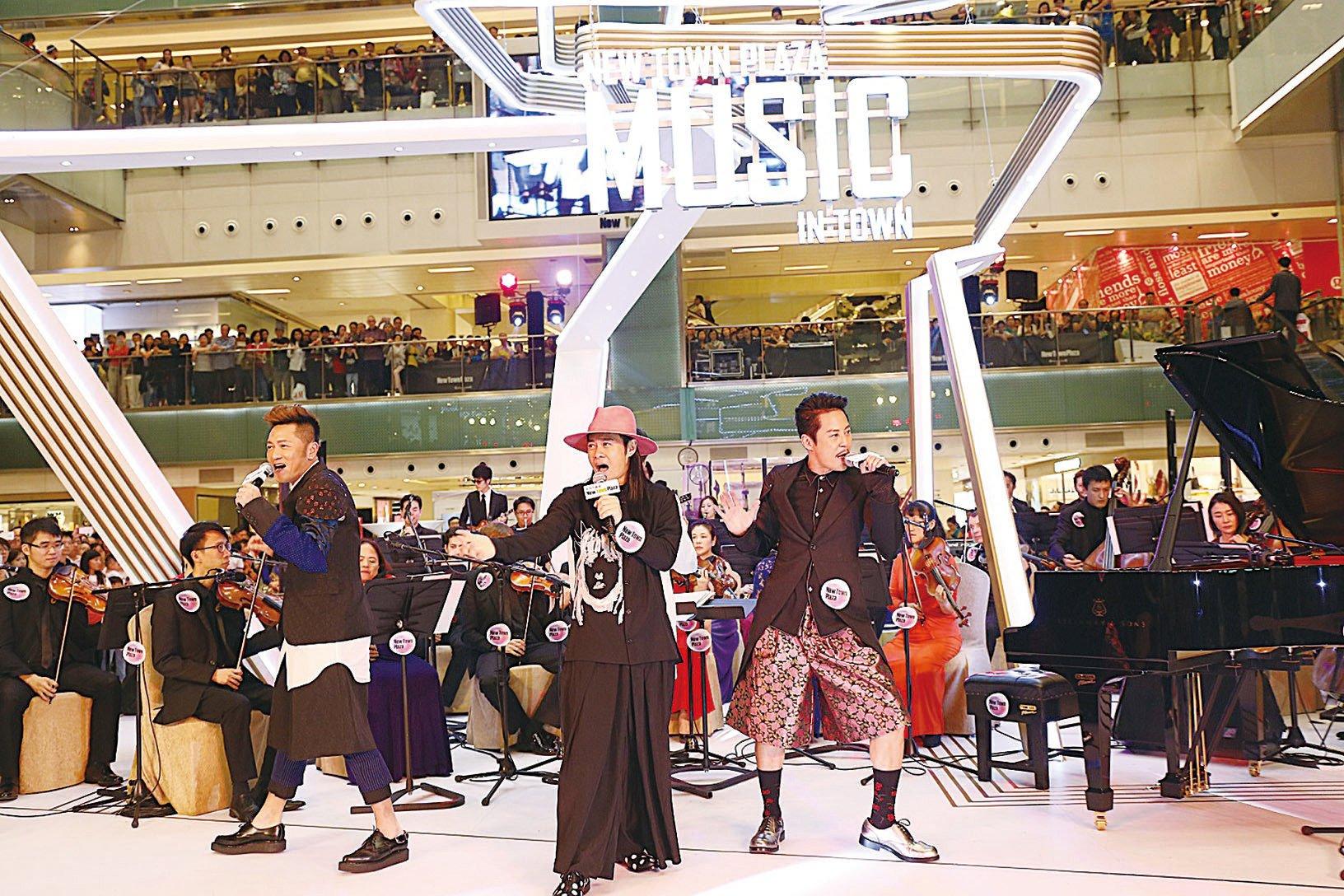 草蜢首度與古典樂團合作表演,讓他們獲益良多。(Dynamic Duo PR)