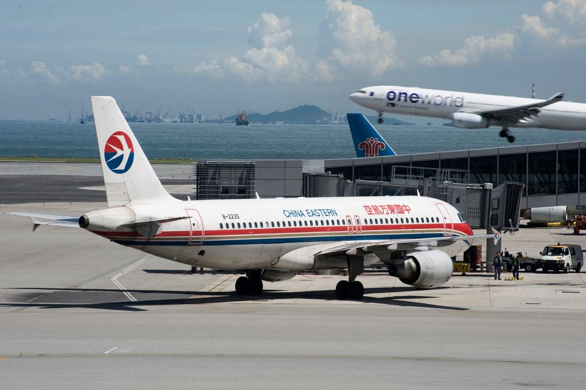 香港機場是全球最繁忙的機場之一,精確管理飛機升降非常重要。(大紀元資料圖片)