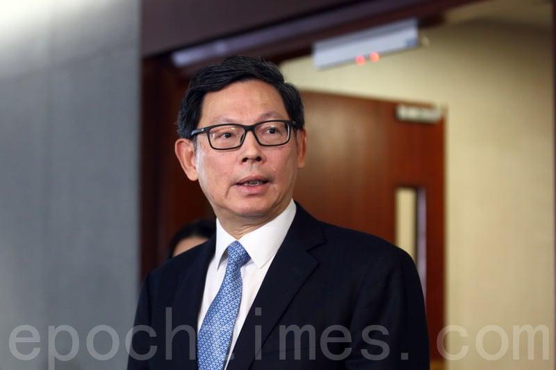 金管局總裁陳德霖表示,外匯基金為多元化投資,期望透過分散投資,令風險可控。(蔡文雯/大紀元)