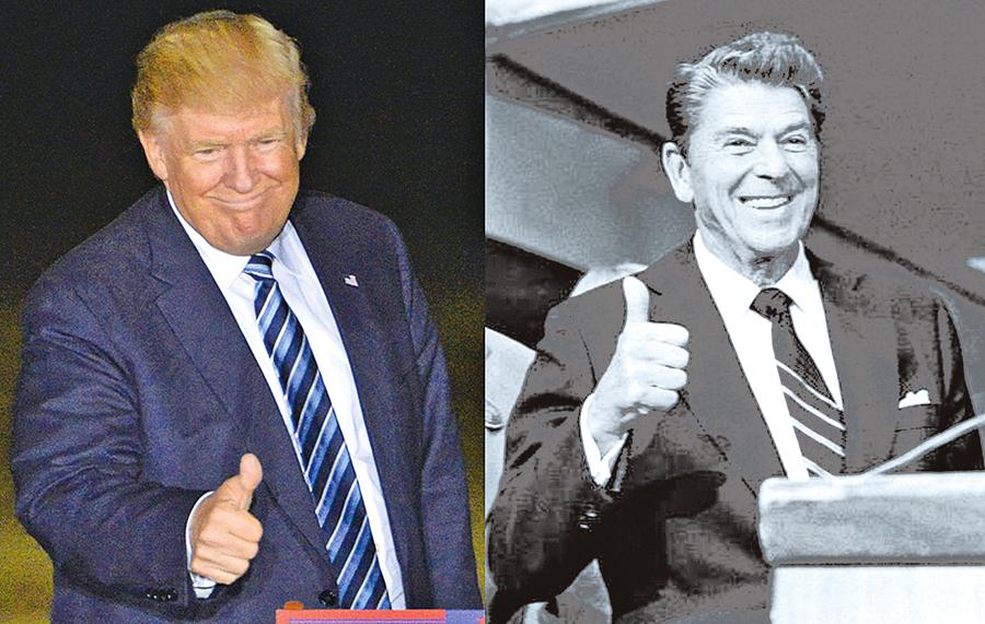 資深媒體人:特朗普或成列根