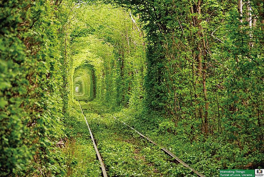 烏克蘭「愛的隧道」冷戰工廠變浪漫地標