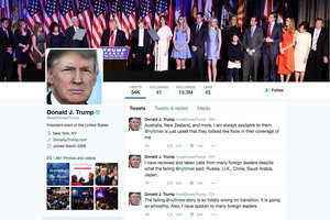 不滿媒體亂報道 特朗普重回推特親自回應